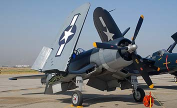 Vought F4U-1A Corsair NX83782