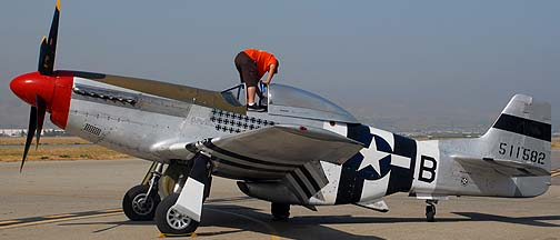 North American P-51D Mustang NL5441V Spam Can