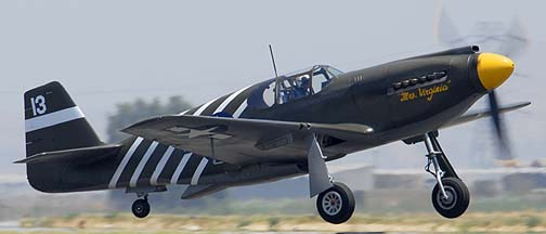 North American P-51A-10NA Mustang NX4235Y Mrs Virginia