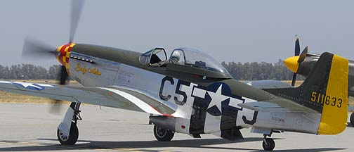 North American P-51D Mustang N151MW Lady Alice
