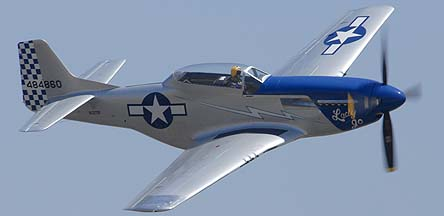 North American P-51D Mustang NL327DB Lady Jo