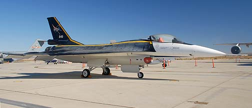 Lockheed-Martin-General Dynamics F-16XL #1 Cranked-Arrow Wing demonstrator, NASA 849