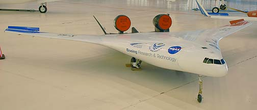 Boeing X-48 Blended Wing Body sub-scale demonstrator