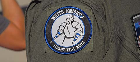 White Knight Flight Test 2002 patch
