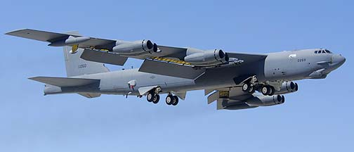 Boeing B-52H Stratofortress 60-0050 of the 412th Test Wing