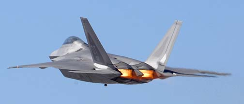 Lockheed-Martin F-22A Block 30 Raptor 06-4111 of the 422nd Test and Evaluation Squadron