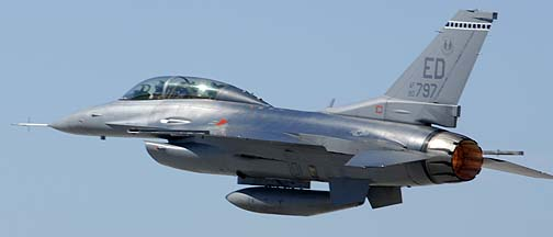 General Dynamics F-16D Block 40K 90-0797 of the 412th Test Wing