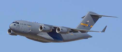 Boeing C-17A Globemaster 3 07-7188 of the 437th Air Mobility Wing