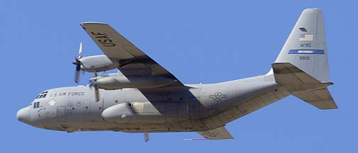 Lockheed C-130H Hercules 89-9101 of the 908th Air Mobility Wing