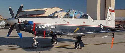 Raytheon T-6A Texan II 05-3775 of the 84th Flying Training Squadron
