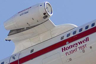 Honeywell 757 Engine Testbed N757HW, March 26, 2010