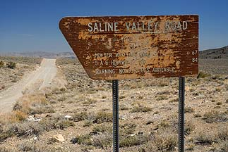 Sailne Valley Road Sign