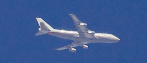 General Electric Boeing 747-121 N747GE