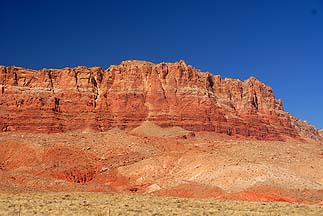 Vermilion Cliffs, September 25, 2010
