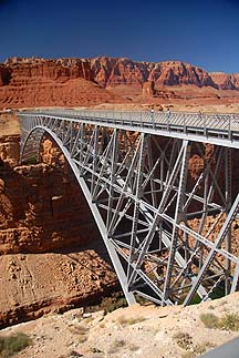 Old Navajo Bridge, September 25, 2010