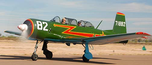 Nanchang CJ-6A N4182C, Copperstate Fly-in, October 23, 2010