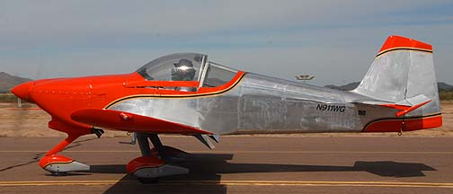 RV-6A N911WG, Copperstate Fly-in, October 23, 2010