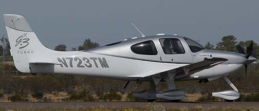 Cirrus SR22 N723TM, Copperstate Fly-in, October 23, 2010