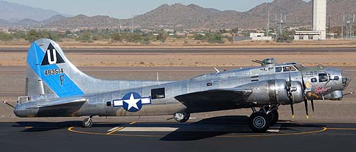 Boeing B-17G Flying Fortress Sentimental Journey N9323Z, Deer Valley, November 14, 2010