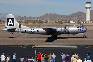 Boeing B-29 Superfortress N529B Fifi, Deer Valley, November 14, 2010