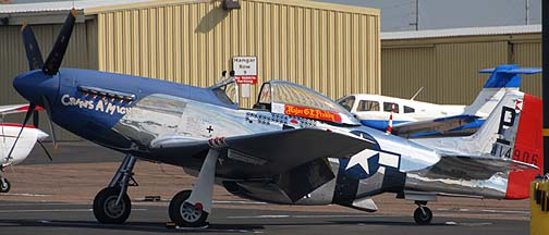 North American P-51D Mustang Cripes a Mighty, Deer Valley, November 14, 2010
