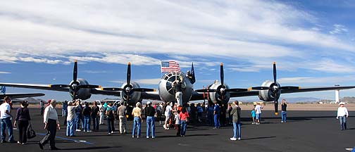 Boeing B-29 Superfortress Fifi N529B, Deer Valley, November 14, 2010