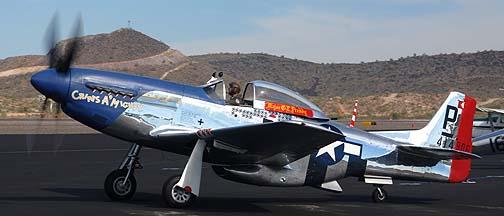 North American P-51D Mustang Cripes a Mighty N151BW, Deer Valley, November 14, 2010