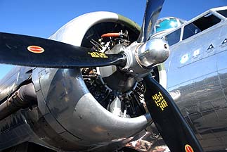 Boeing B-17G Flying Fortress Sentimental Journey N9323Z, Deer Valley, November 15, 2010