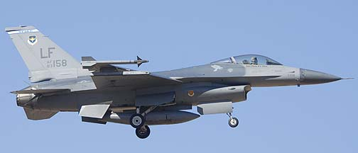 F-16C Block 25B 83-1158 of the 62nd Fighter Squadron Spike