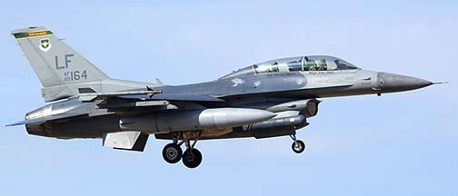 F-16D Block 42F 89-2164 310th Fighter Squadron Top Hats