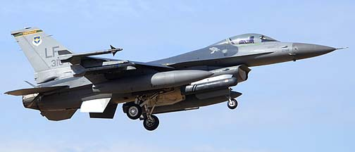 F-16C Block 42J 90-0768 310th Fighter Squadron Top Hats