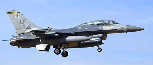 F-16D Block 42A 88-0162 310th Fighter Squadron Top Hats