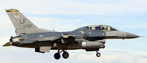 F-16D Block 42H 90-0787 310th Fighter Squadron Top Hats