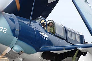 Curtiss SB2C Helldiver NX92879, Falcon Field, Fabruary 18, 2011