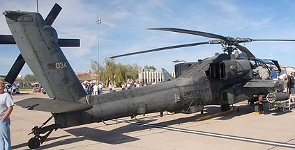 US Army McDonnell-Douglas AH-64D 97-5034, Phoenix-Mesa Gateway Airport Aviation Day, March 12, 2011