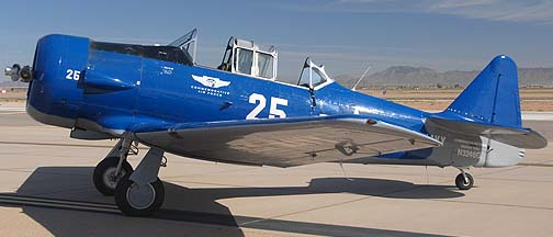 Commemorative Air Force North American SNJ-5 Texan N3246G, Phoenix-Mesa Gateway Airport Aviation Day, March 12, 2011