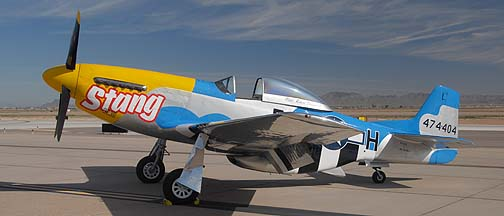Commemorative Air Force North American P-51D Mustang NL151RJ Stang, Phoenix-Mesa Gateway Airport Aviation Day, March 12, 2011