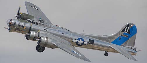 Boeing B-17G Flying Fortress N9323Z Sentimental Journey, Falcon Field, April 2, 2011