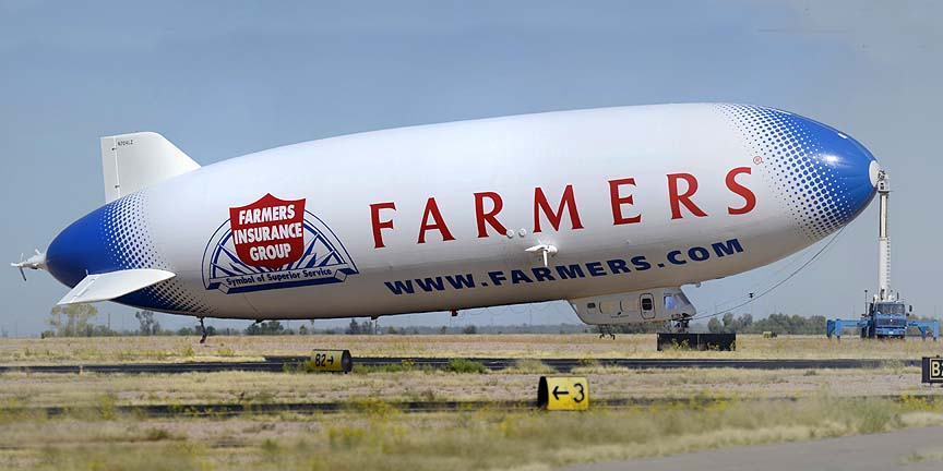 Airship Ventures Zeppelin NT N704LZ Eureka, Marana Regional Airport, October 15, 2011