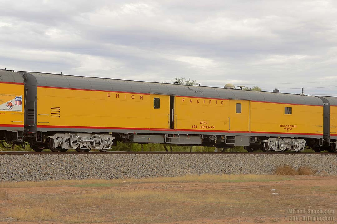 Union pacific tool car upp 6334 art lockman is named in memory of a