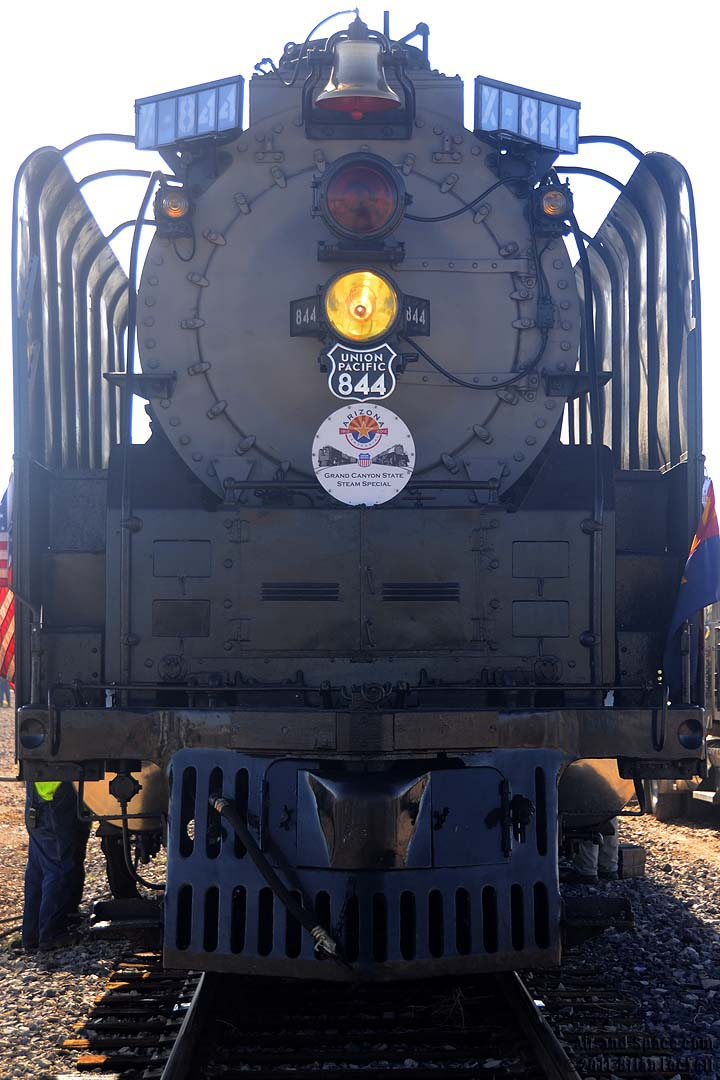 Air and space union pacific steam locomotive