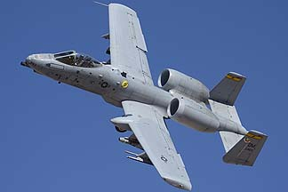Fairchild-Republic A-10C Thunderbolt II (Warthog) 82-0663 of the 357th Fighter Squadron Dragons, February 2, 2012