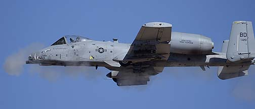 Fairchild-Republic A-10A Thunderbolt II (Warthog) 79-0120 of the 47th Fighter Squadron Terrible Termites, February 2, 2012