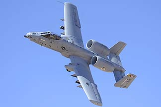 Fairchild-Republic A-10A Thunderbolt II (Warthog) 79-0108 of the 104th Fighter Squadron Liberati Impromptu, February 2, 2012