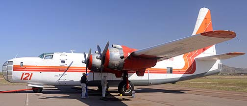 Consolidated P4Y-2 N2871G Tanker 121, Cactus Fly-in, March 2, 2012