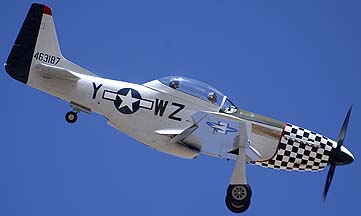 North American P-51D Mustang NL20TF Bum Steer, Davis-Monthan Air Force Base, March 4, 2012