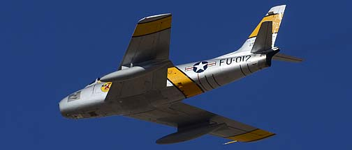 North American F-86E Sabre N186AM, Davis-Monthan Air Force Base, March 4, 2012