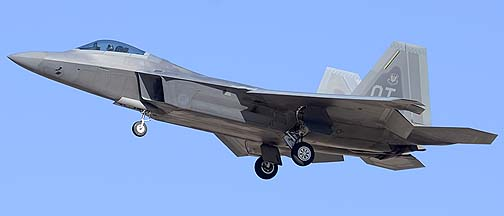 Lockheed-Martin F-22A Raptor 04-4068, Davis-Monthan Air Force Base, March 4, 2012