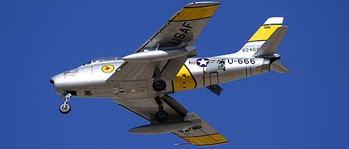 North American F-86F Sabre N860AG, Davis-Monthan Air Force Base, March 4, 2012