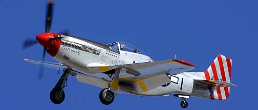 North American P-51D Mustang NL351MX February, Davis-Monthan Air Force Base, March 4, 2012